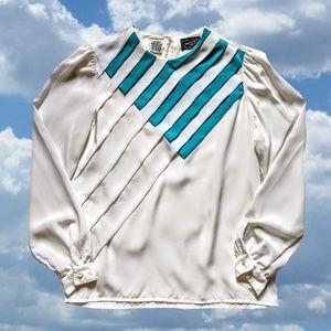 80's Pop-Art Blouse